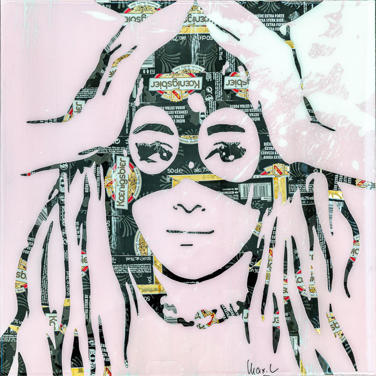 Maxl - Ariana Pink & Black